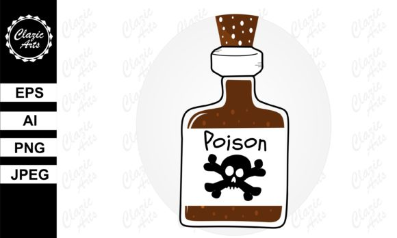 Print on Demand: Poison Graphic Graphic Illustrations By ClazicArts