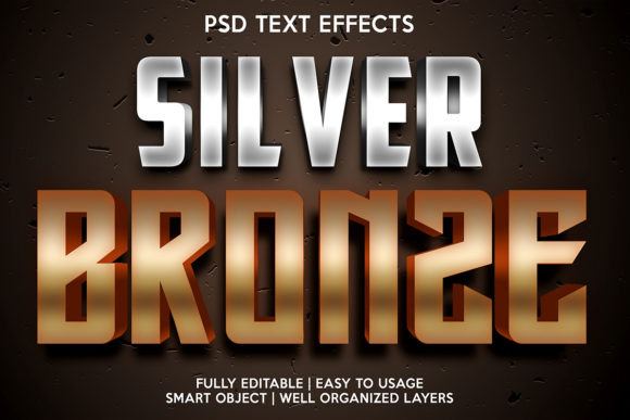 Silver Hammer Text Effect Graphic Layer Styles By gilangkenter