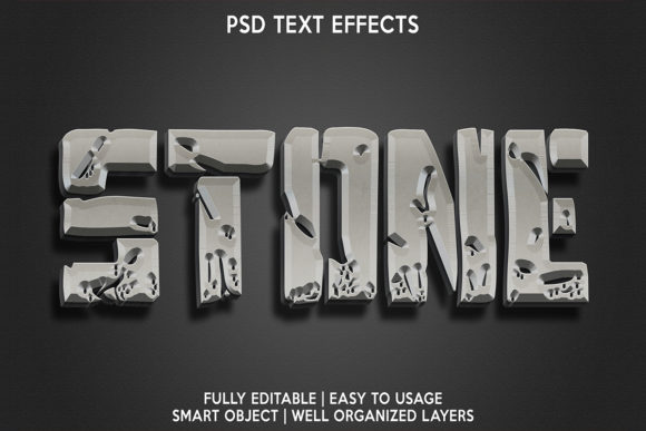 Stone Text Effect Premium Graphic Layer Styles By gilangkenter