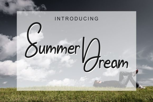 Print on Demand: Summer Dream Script & Handwritten Font By Pidco.art
