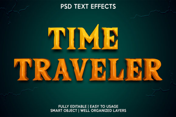 Time Traveler Text Effect Graphic Layer Styles By gilangkenter