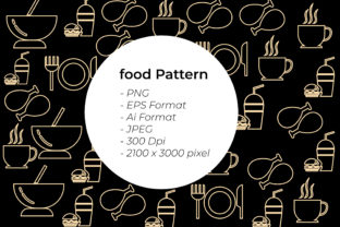 Fast Food Seamless Pattern Graphic Patterns By handles creative