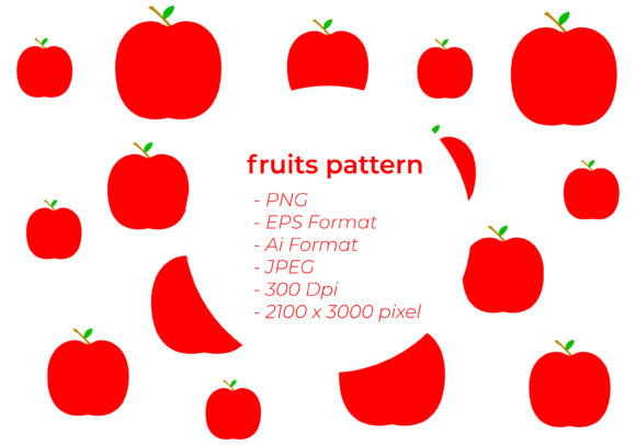 Fruits Seamless Pattern Graphic Patterns By handles creative