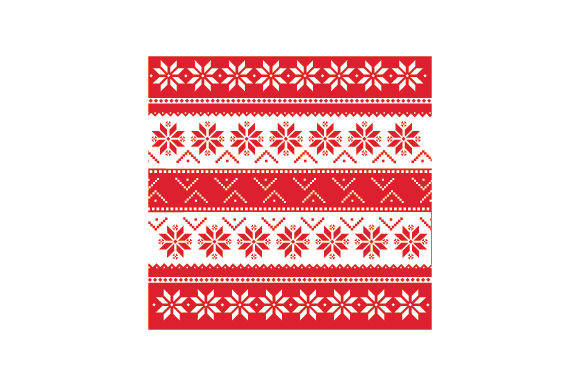 Ugly Sweater Pattern Cut File