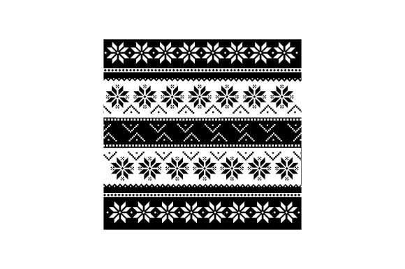 Ugly Sweater Pattern Cut File Download