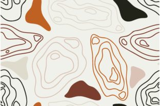 Abstract Topographic Pattern Graphic Patterns By etinurhayati0586
