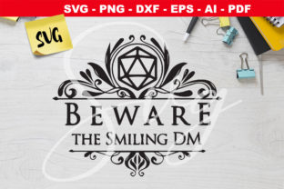 Print on Demand: Beware the Smiling DM - DnD Icon - RPG Graphic Crafts By Novart