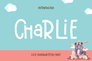 Print on Demand: Charlie Script & Handwritten Font By Pila Studio