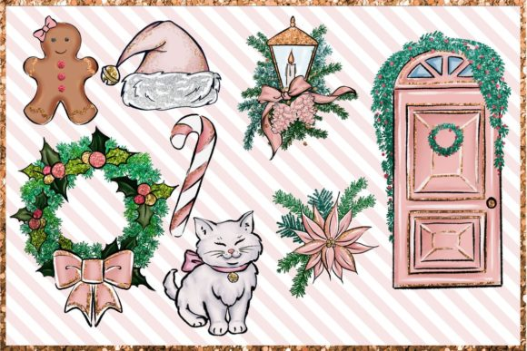 Christmas Clipart Png Set Graphic Design