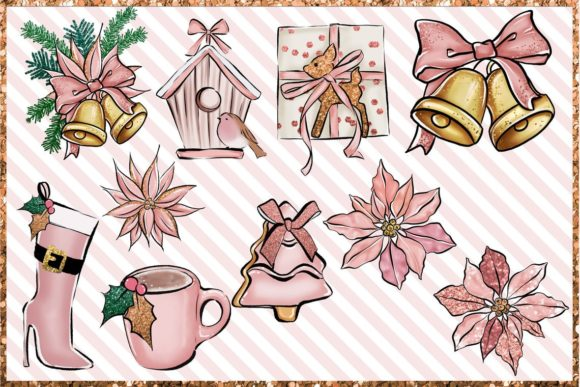 Christmas Clipart Png Set Graphic Image