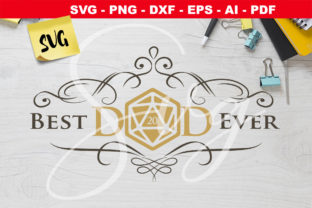 Print on Demand: D20 Best Dad Ever RPG Graphic Crafts By Novart