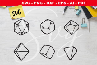 Print on Demand: DnD RPG Game Dice Set Graphic Crafts By Novart
