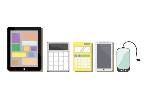 Electronic Devices Illustrations Vector Graphic Illustrations By 1riaspengantin