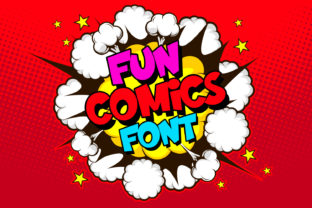 Print on Demand: Fun Comics Display Font By OWPictures 1