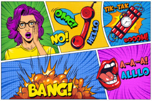 Print on Demand: Fun Comics Display Font By OWPictures 2