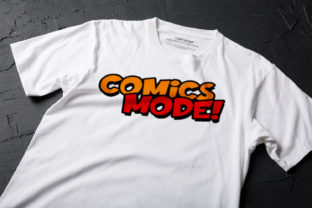 Print on Demand: Fun Comics Display Font By OWPictures 4