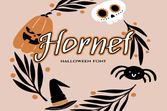 Print on Demand: Hornet Script & Handwritten Font By dmytroyarish