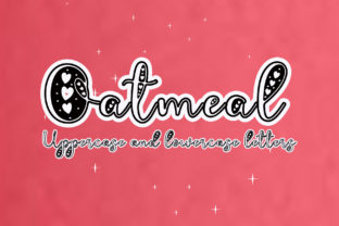 Print on Demand: Oatmeal Decorative Font By Sulthan Studio 1