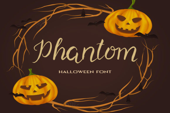 Print on Demand: Phantom Script & Handwritten Font By dmytroyarish