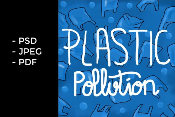 Plastic Pollution Painting Grafik Objekte von GVL
