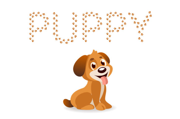 Print on Demand: Puppy Decorative Font By Vladimir Carrer