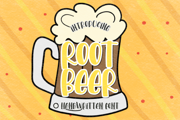 Print on Demand: Root Beer Display Font By WADLEN
