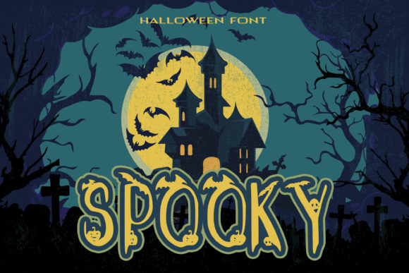Print on Demand: Spooky Decorative Font By dmytroyarish
