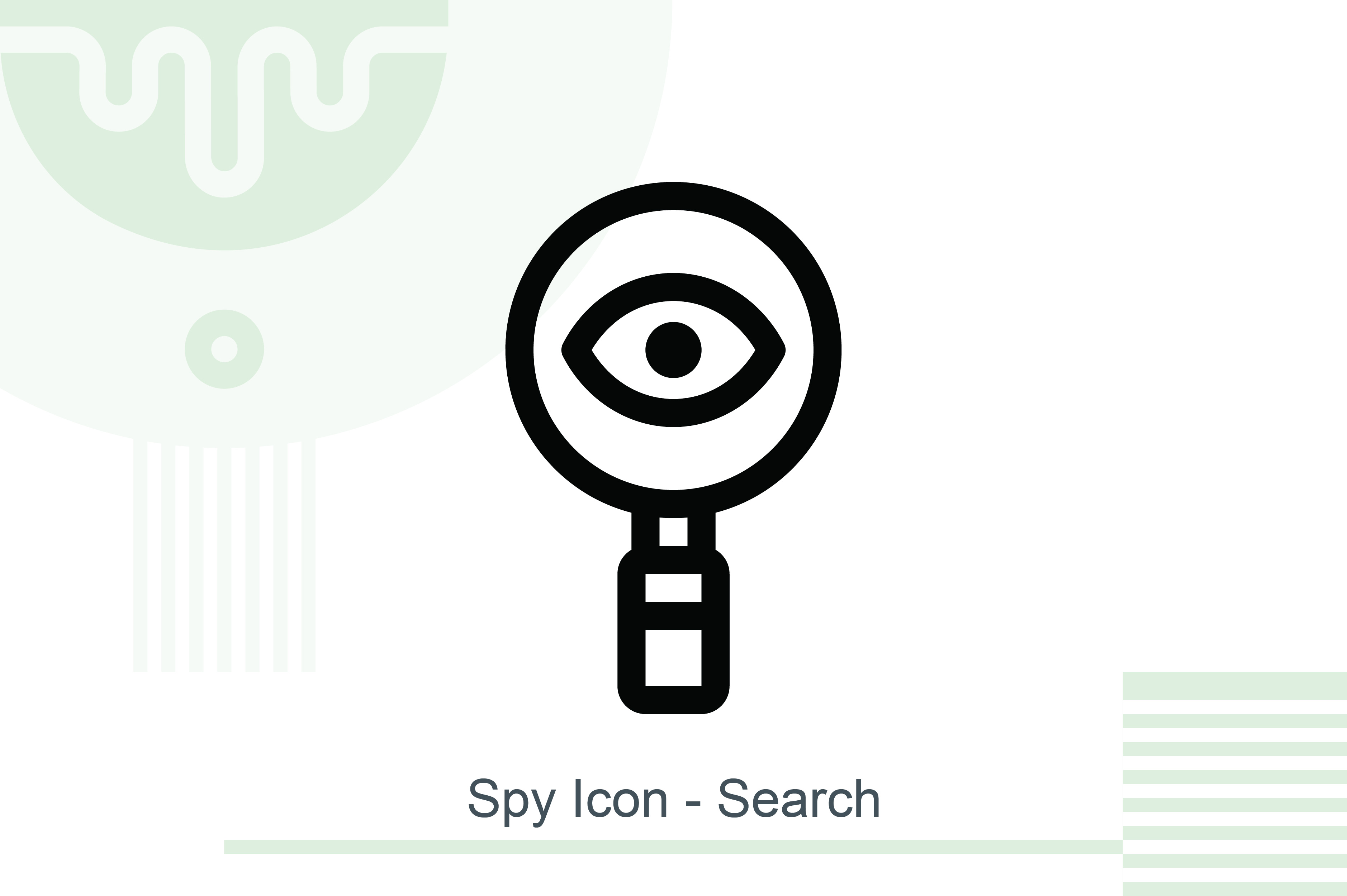 spy icon search graphic by melindagency creative fabrica creative fabrica