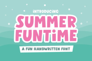 Print on Demand: Summer Funtime Display Font By Archetype Fonts
