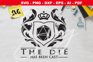 Print on Demand: The Die Has Been Cast - DnD Icon - RPG Graphic Crafts By Novart