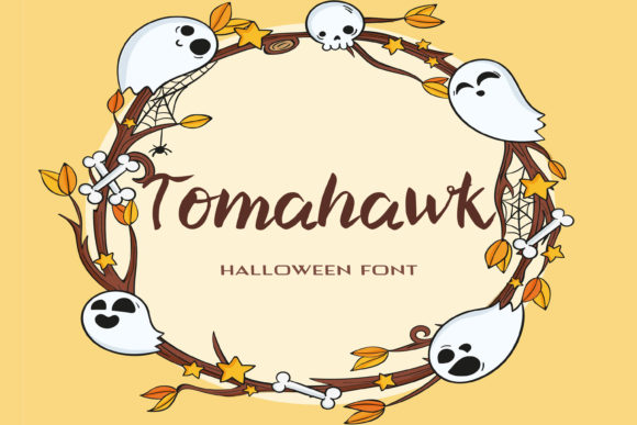 Print on Demand: Tomahawk Script & Handwritten Font By dmytroyarish