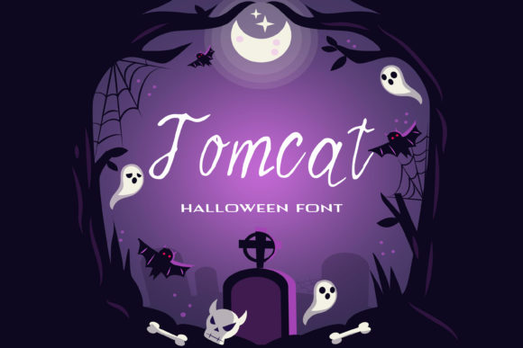 Print on Demand: Tomcat Script & Handwritten Font By dmytroyarish