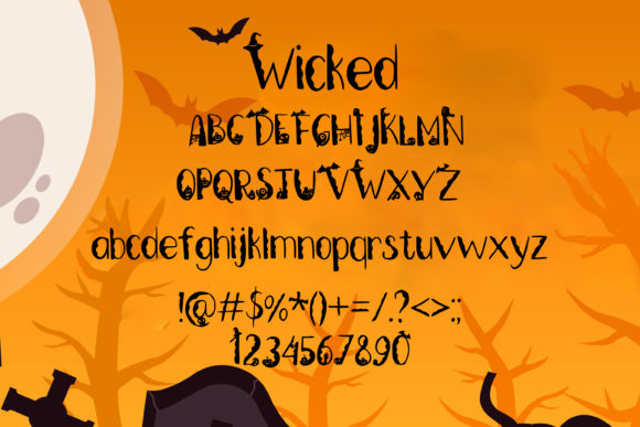 Wicked Graveyard Font Download