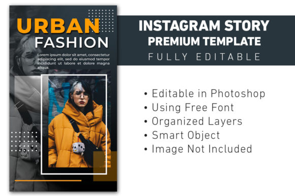 Instagram Story Urban Fashion Sale Graphic Graphic Templates By ant project template