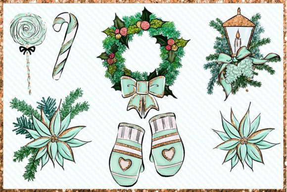 Christmas Clipart Bundle Graphic Preview