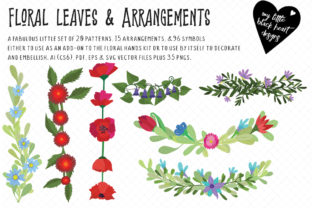Floral Patterns and Arrangements Graphic Patterns By My Little Black Heart