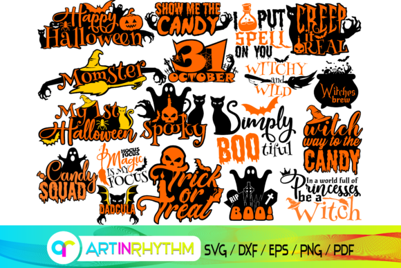 Halloween Svg Bundle Graphic Crafts By artinrhythm