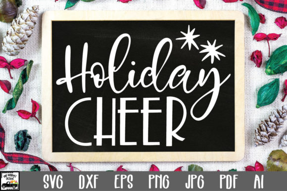 Print on Demand: Holiday Cheer Graphic Crafts By oldmarketdesigns