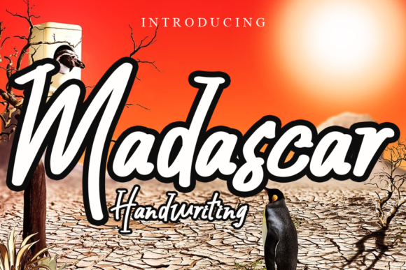 Print on Demand: Madascar Script & Handwritten Font By gunawanletter