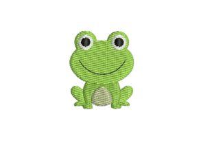 Mini Frog Design Baby Animals Embroidery Design By Sweet Embroidery Designs