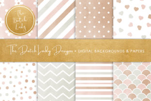 Print on Demand: Pastel Seamless Patterned Papers Graphic Patterns By daphnepopuliers