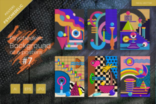 Psychedelic Background #7 Graphic Backgrounds By Keno Shop