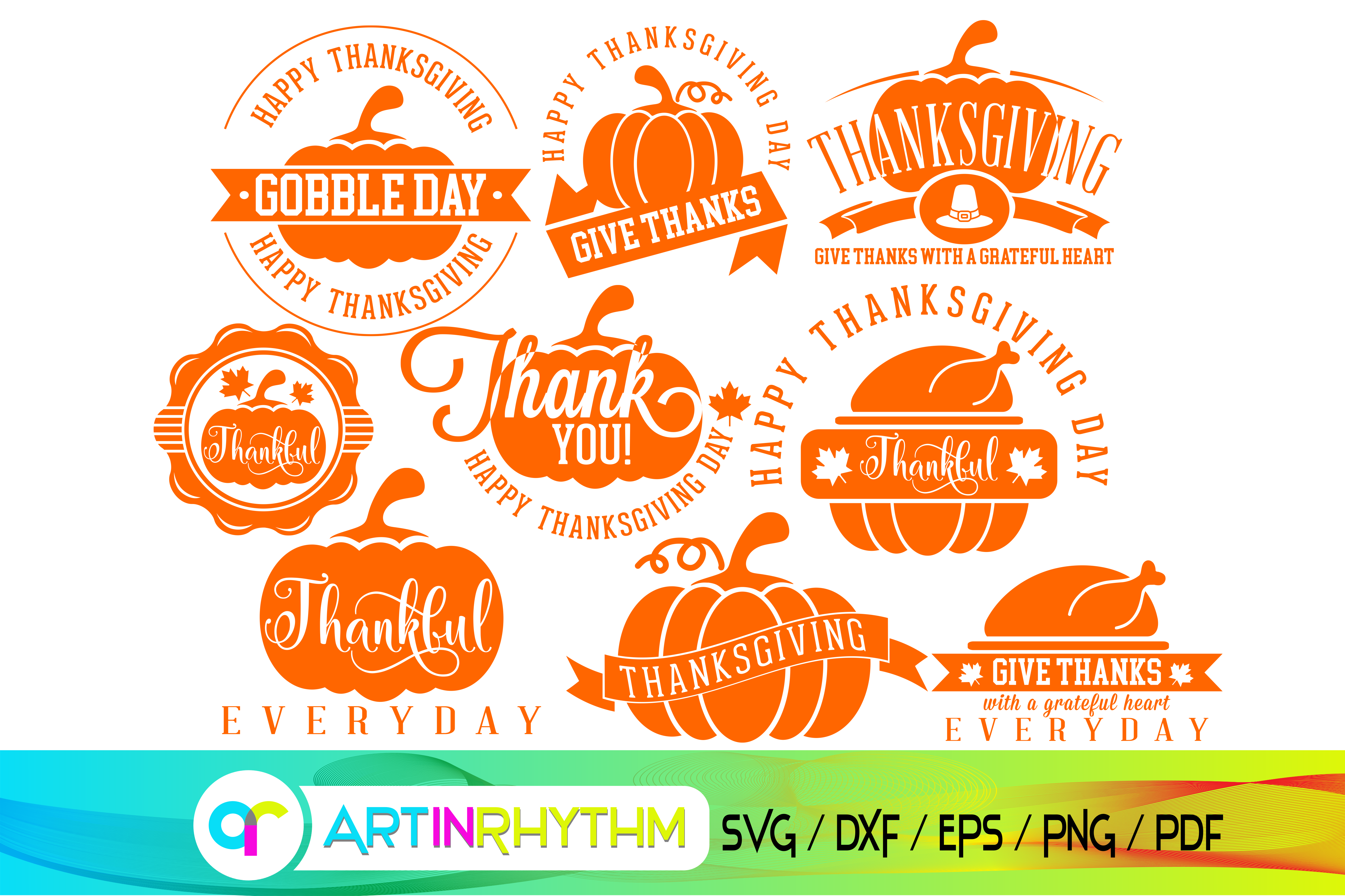 49+ Gobble Until You Wobble!! – Thanksgiving – Svg – Dxf – Pdf Files – Hand Drawn Lettered Cut File – Graphic Overlay Design