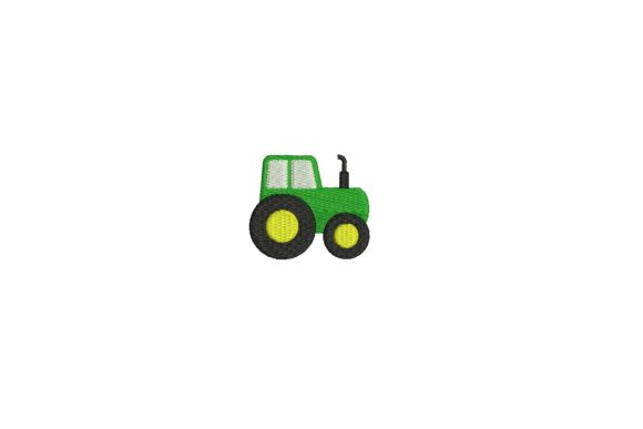 Tractor Design Farm Animals Embroidery Design By Sweet Embroidery Designs