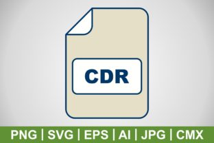 Print on Demand: Vector CDR Icon Graphic Icons By IYIKON