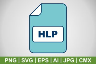 Print on Demand: Vector HLP Icon Graphic Icons By IYIKON