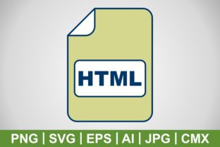 Print on Demand: Vector HTML Icon Graphic Icons By IYIKON