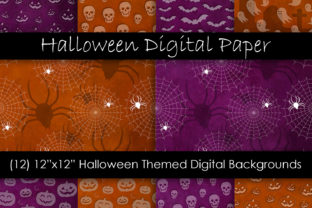 Halloween Background Patterns Graphic Patterns By GJSArt