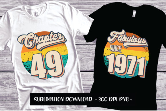 Print on Demand: Chapter and Fabulous 49 Sublimation Graphic Crafts By FauzIDEAStudio