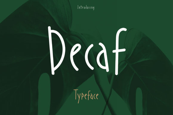 Print on Demand: Decaf Script & Handwritten Font By Fontana Studio